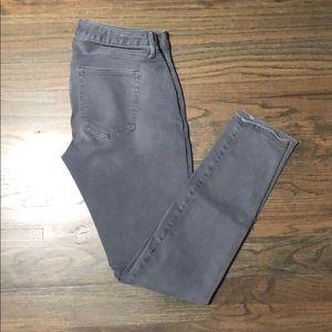 Gap Maternity True Skinny size 27 gray jeans.